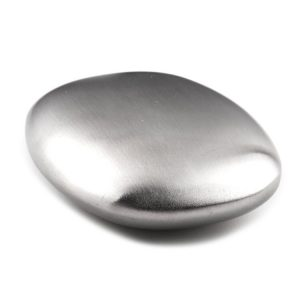 304 Stainless Steel Soap, Protable Magic Soap, Kitchen Bar Eliminating Odor Remover (Oval )